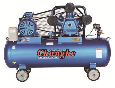 昌和 活塞式移动空压机打气泵 工业级工厂工地