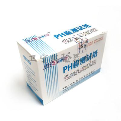 教学仪器 PH1-14 酸碱度ph值检测试纸 奥克广范试纸 实验
