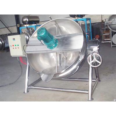 工业煮锅各种规格的蒸汽夹层锅可倾立式夹层蒸汽锅炊事设备