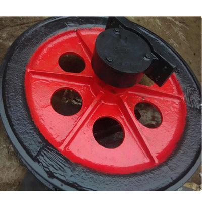 天轮绳轮矿用天轮型号TXG-800/16凿井天轮游动天轮串车使用说明书