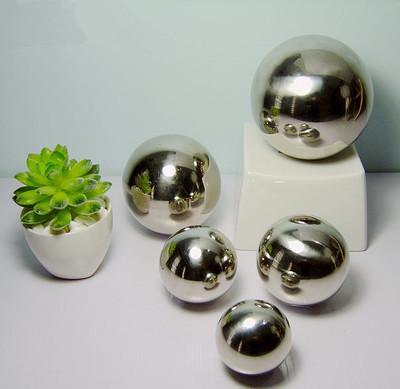 不锈钢球 正宗304 直径600mm 不锈钢空心球 镜面亮光 装饰