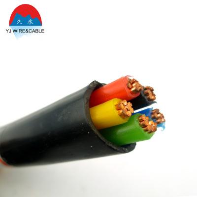 厂家供应 铠装铜芯低压yjv电线电缆批发阻燃护套电力电缆线定制
