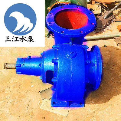 厂家直销300HW-8混流泵 农用灌溉泵 卧式 大流量 蜗壳式混流泵