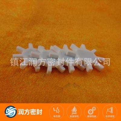 聚四氟乙烯PTFE(八角环)垫片 特殊键四氟圈 来图来样加工定做