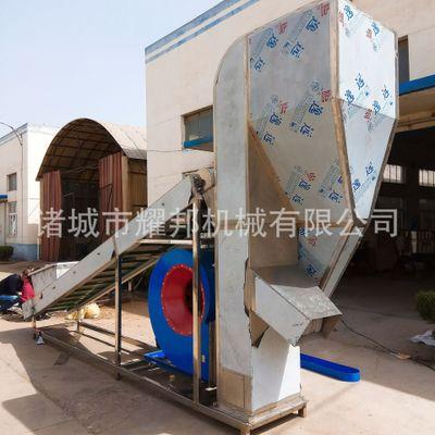 早青毛豆加工除杂风选机设备 强力风力筛选除杂机 毛豆生产流水线