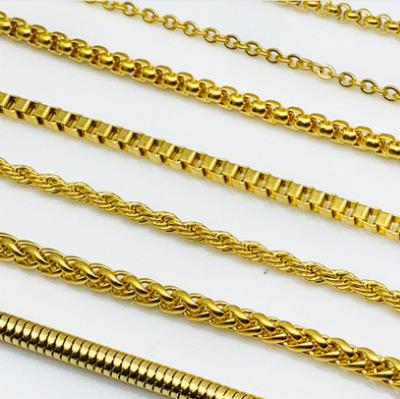 厂家直销 供应 链条 不锈钢链条 电镀各种颜色批发 价格优惠