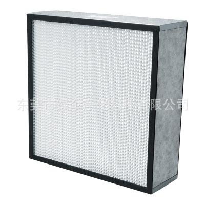 玻纤滤纸高效HS型空气高效过滤器hepa有隔板高效过滤器