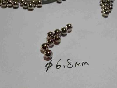 6.8钢球不锈钢珠304不锈钢