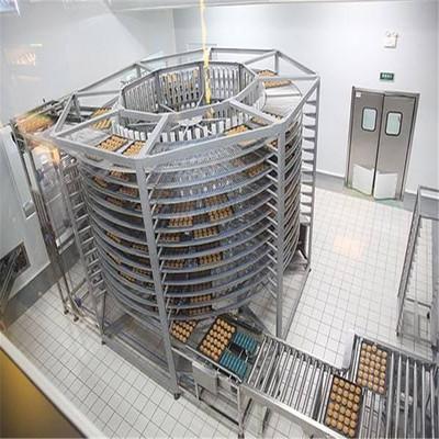 厂家供应输送设备面包双螺旋输送机  食品双螺旋冷却塔量大优惠