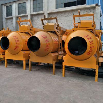 农村建设用JZC350混凝土滚筒搅拌机 工地用全爬式砂浆水泥混合机