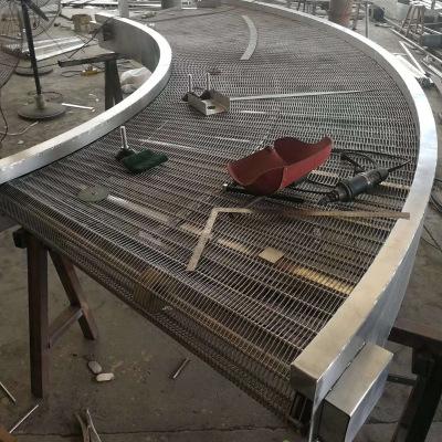 转弯输送机链网式转弯机板链链板式转弯转弯机选金桥机械可定做