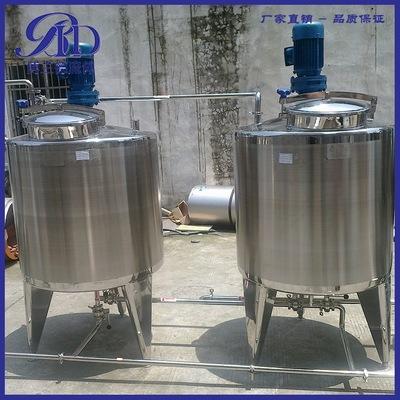 厂家直销卫生级全不锈钢 搅拌罐 搅拌桶 单层搅拌桶 拌料桶