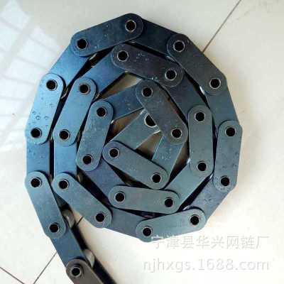 2寸空心滚子链条现货不锈钢输送带传动套筒链厂家工业输送滚子链