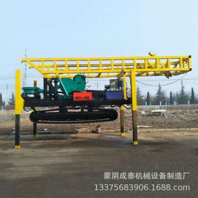 厂家直销磨盘打井钻机运输方便农村水井专用大口径