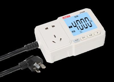 优利德UT-230E电量功率计量插座功率计10A/16A电表电度表检测计