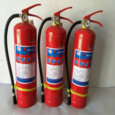 灭火器  消防器材  4kg灭火器手提式干粉灭火器家用4公斤灭