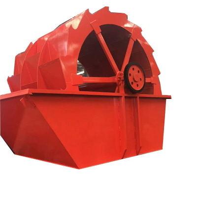 铁虎水轮式洗砂机 轮斗式洗石洗砂机 洗砂机 双螺旋洗砂机
