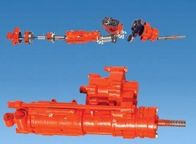 供应YGZ90凿岩机,专业导轨式回转钻机