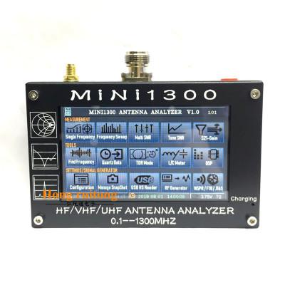 外贸热卖款超大屏MINI1300 全频段触摸屏矢量VNA 天线分析仪