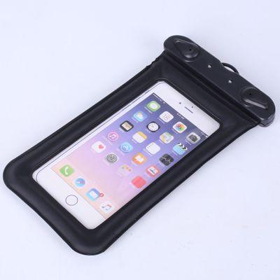 漂浮气囊充气手机防水袋新款触屏游泳透明防水手机袋防水套