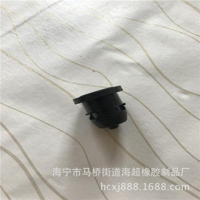 厂家直销 橡胶保护套 双面橡胶护线套 双孔硅胶出线圈 电线保护套