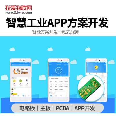智慧工业APP解决方案 WiFi物联网生产仓储管理 数据分析软件研发