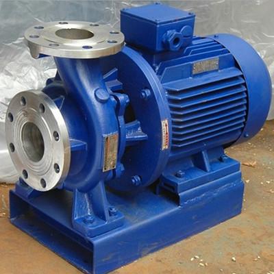 ISG ISW直联离心泵 ISW125-160卧式增压管道泵冷却塔循环水泵