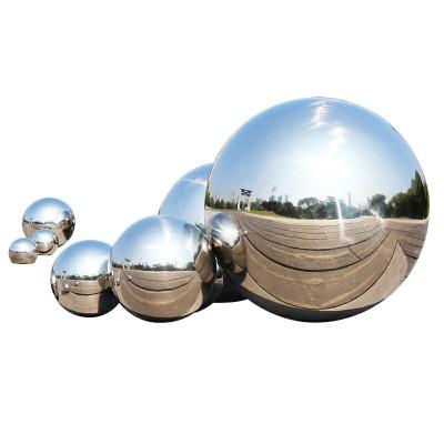 304不锈钢圆球楼梯装饰球不锈钢球镜面亮光不锈钢空心球浮球摆件