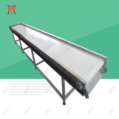 玉米输送机 果蔬加工挑选台 架体不锈钢材质 产品根据产量定制