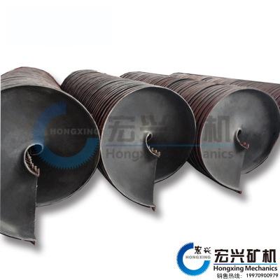 螺旋溜槽选机 粗粒细粒煤泥螺旋溜槽 新型螺旋溜槽 产量高 低投入