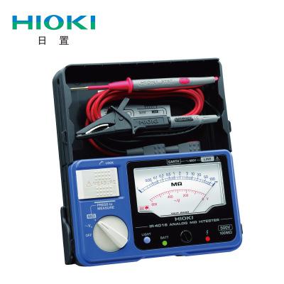 日置HIOKI 绝缘电阻测试仪 模拟兆欧表IR4016/4017/4018-20