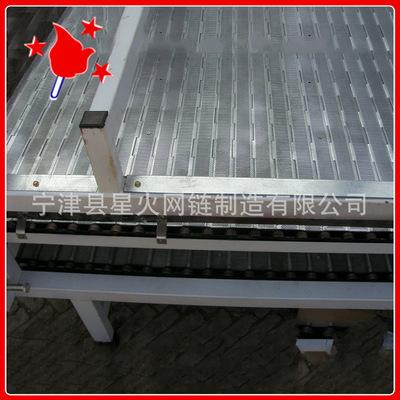 不锈钢传动链板304星火 排屑机用配件 非标定制耐磨食品工业板链