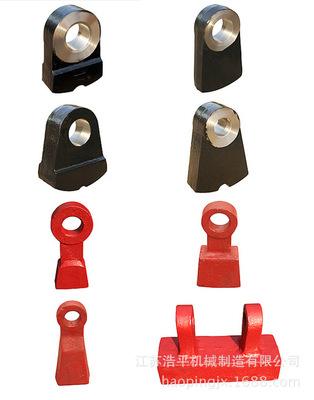 锤头高铬合金复合锤头锤式破碎机配件耐磨件