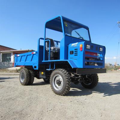 四不像运输型翻斗车 高效率四驱运输翻车 多功能自卸式运输车