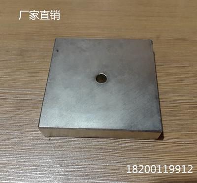 厂家直销 大块强磁铁 钕铁硼磁铁 强力吸铁石 正方形100*100*20