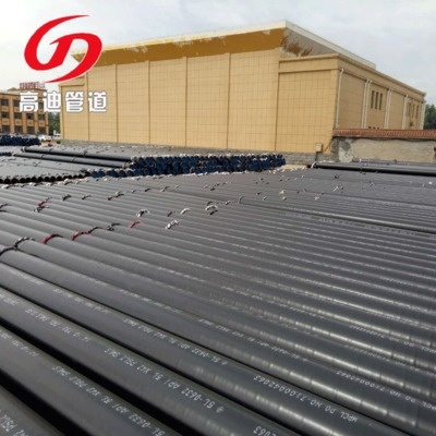 高密度聚乙烯防腐管厂家  外3pe内热溶解环氧树脂防腐钢管厂家