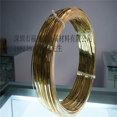 现货供应T2高导电紫铜丝 弹簧专用H65黄铜线 福盛源厂家