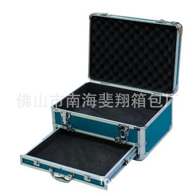 供应大号多层收纳箱 多功能手提箱 多层抽屉箱 工具仪器包装箱