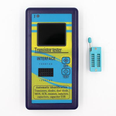 彩屏版图形显示 M328晶体管测试仪 电阻表电感表电容表ESR仪表