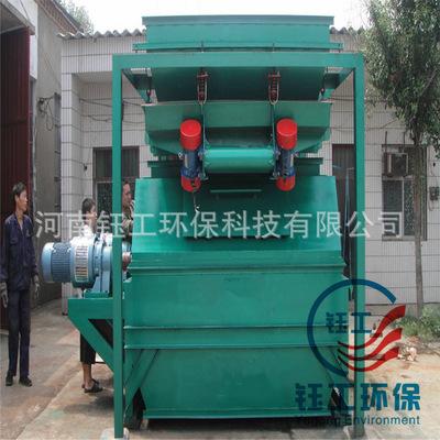 滚筒皮带式磁选机 高强永磁矿料 非金属除铁器 干式选矿设备机械