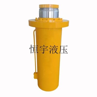 厂家直销100吨500吨液压油缸钢支撑专用千斤顶一拖二工程液压油缸