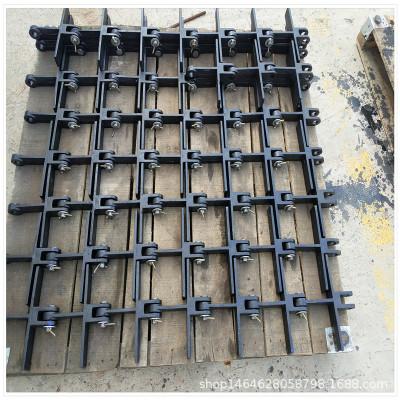 供应云南省锅炉配件 锅炉辅机十字刮板规格 十字刮板配套链轮现货