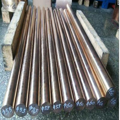 宏诺供应 优质耐磨高导电铝青铜棒 高硬度QA19铝青铜板 定尺切