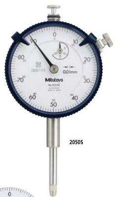 日本三丰Mitutoyo 2050S 2050SB 长行程指针百分表 0.01
