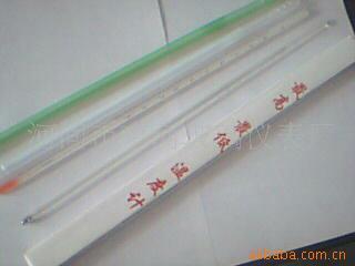 定做铁狮牌JH系列标准高低温度计 家用小巧棒式直型玻璃温度计