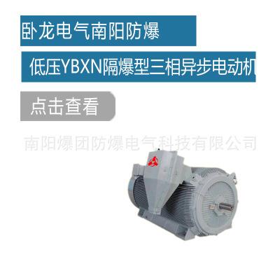 卧龙电气南阳防爆 4极低压YBXN系列隔爆型三相异步电动机