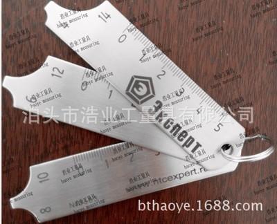 三片规 焊缝样板4 检验尺0-5 R规 半径焊接样板6 8 10 12 14