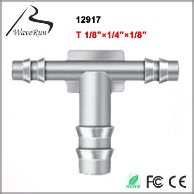 汽车连接器 T型连接管 GM: 1610403 T 1/8