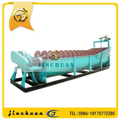 低堰式螺旋分级机 低堰式双螺旋分级机 洗矿分级机