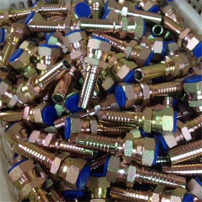 现货供应 高压胶管接头三件套 扣压式高压胶管接头可定制